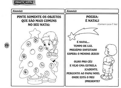 Atividades Diversas Tema Natal Ensino Fundamental I